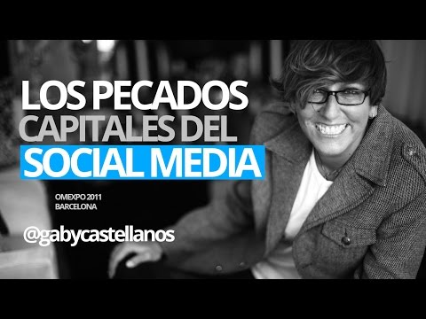 Gaby Castellanos: Los grandes errores del Social Media y el Marketing Digital