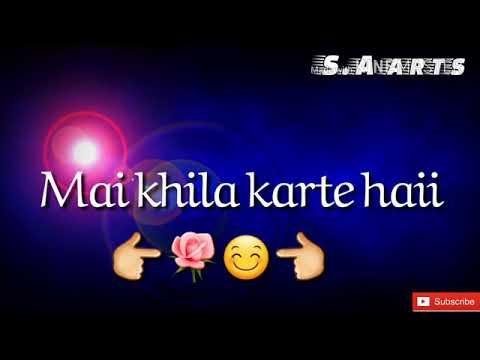 Aise gulshan to baharo me khila karte he...sad whatsapp status...