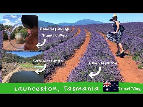 Tasmania Trip - 3 Days In Launceston - Travel Vlog Jan 2017