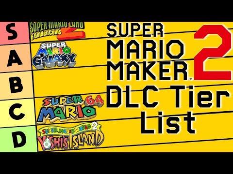 Super Mario Maker 2 Dlc Tier List Youtube