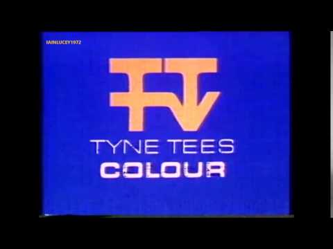 TYNE TEES TELEVISION  in colour  IDENT 1978   ITV NORTH EAST  TTTV IDENT 1978   HD