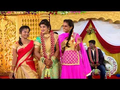 Tamil wedding dance Santhosh & Ragavi