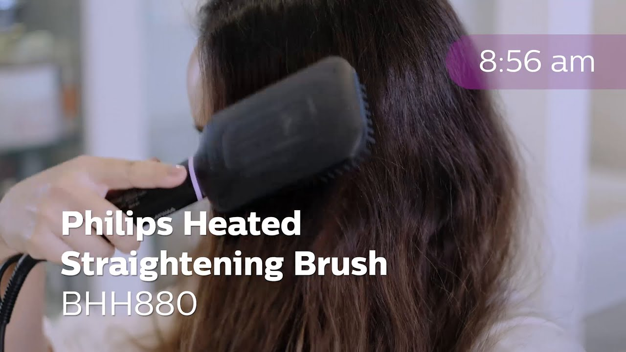Philips Heated Straightening Brush BHH880