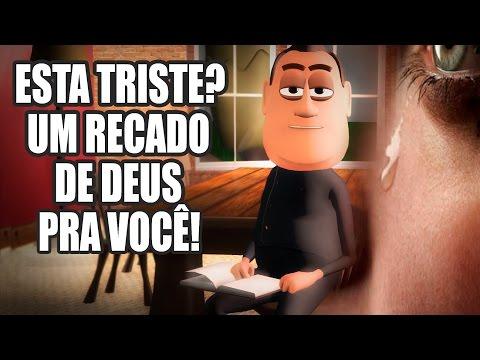 ESTÁ TRISTE? UM RECADO DE DEUS PRA VOCÊ! | ANIMA GOSPEL