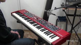 mmag.ru: Clavia Nord Stage 2 - video review