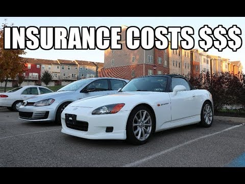 How Much Is My S2000 And 2017 MK7 GTI Insurance!?!?