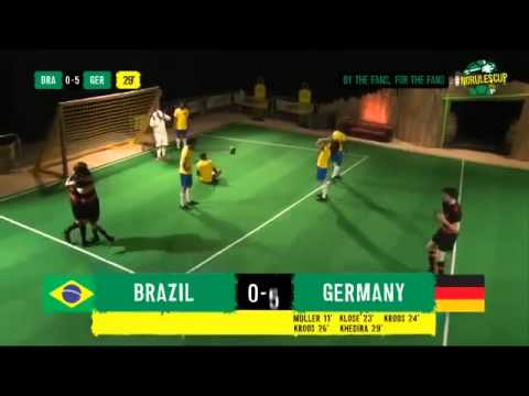 Brazil vs Germany 1 7 Full Highlights Parody ~ World Cup 2014