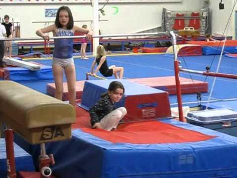 Tori at Gymnastics April 2011