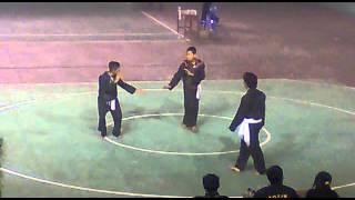 Materi sambung dalam tes calon warga PSHT 2013 season 3) cabang kotim ( Sampit, kalimantan tengah)