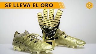 Las BOTAS DE ORO Puma One Gold