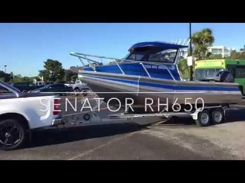 Senator RH650 Water Test - Auckland Marine Centre