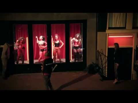 Girls Going Wild In Red Light District Youtube