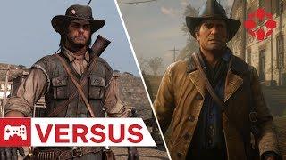 Ennyit fejlődött a Red Dead Redemption 2 az előző részhez képest