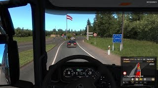Euro Truck Simulator 2 - First Time in Latvia (Beyond the Baltic Sea) [4K 60FPS]