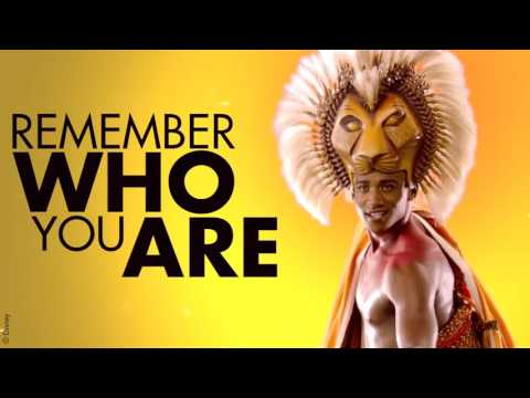 The Lion King - Remember Who You Are snippet