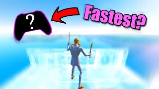 Trying To Edit FAST On EVERY Controller... (WHICH CONTROLLER IS THE FASTEST?)