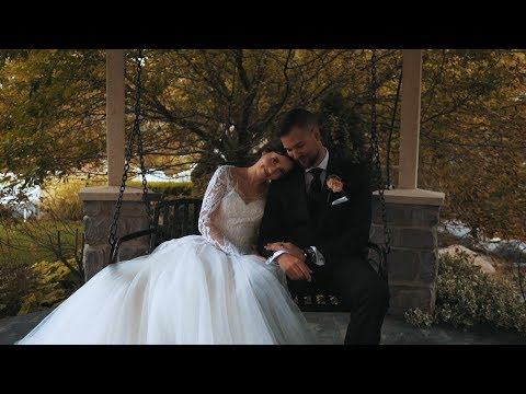 Aubrey & Riley Far | Wedding Highlights | Millennial Falls Draper