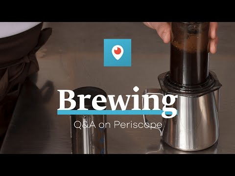 Manual Brewing Q&A on Periscope with Tim Wendelboe