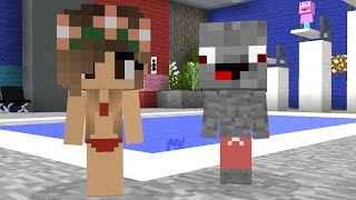 Minecraft Schule : Schwimmunterricht - Badeanzüge - Freundschaft - Minecraft Film deutsch