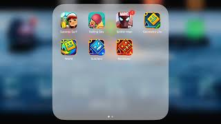 This is what I have in my iPad
