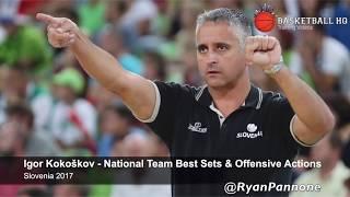Igor Kokoškov Slovenia National Team Best Sets & Actions