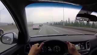 올뉴투싼 고속도로주행