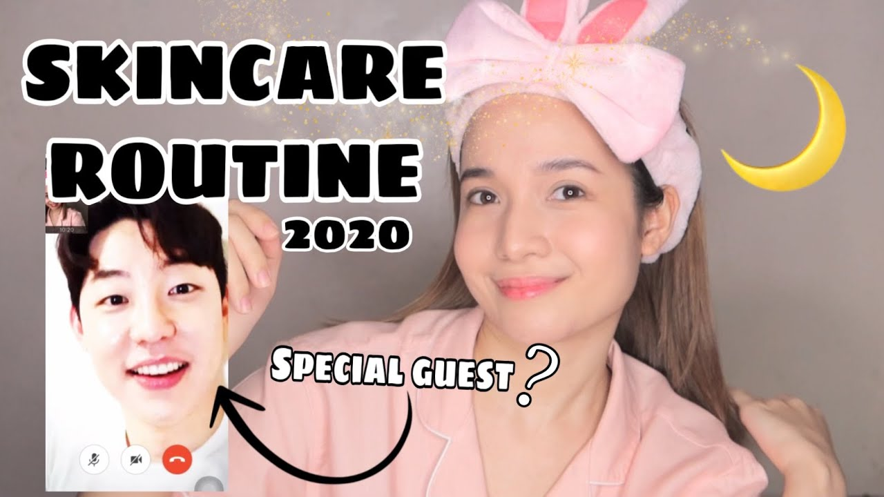 MY SKINCARE ROUTINE 2020 (w/ Face Republic CEO + Giveaway)