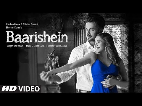 BAARISHEIN Song | Arko Feat. Atif Aslam& Nushrat Bharucha | New Romantic Song 2019 | T-Series
