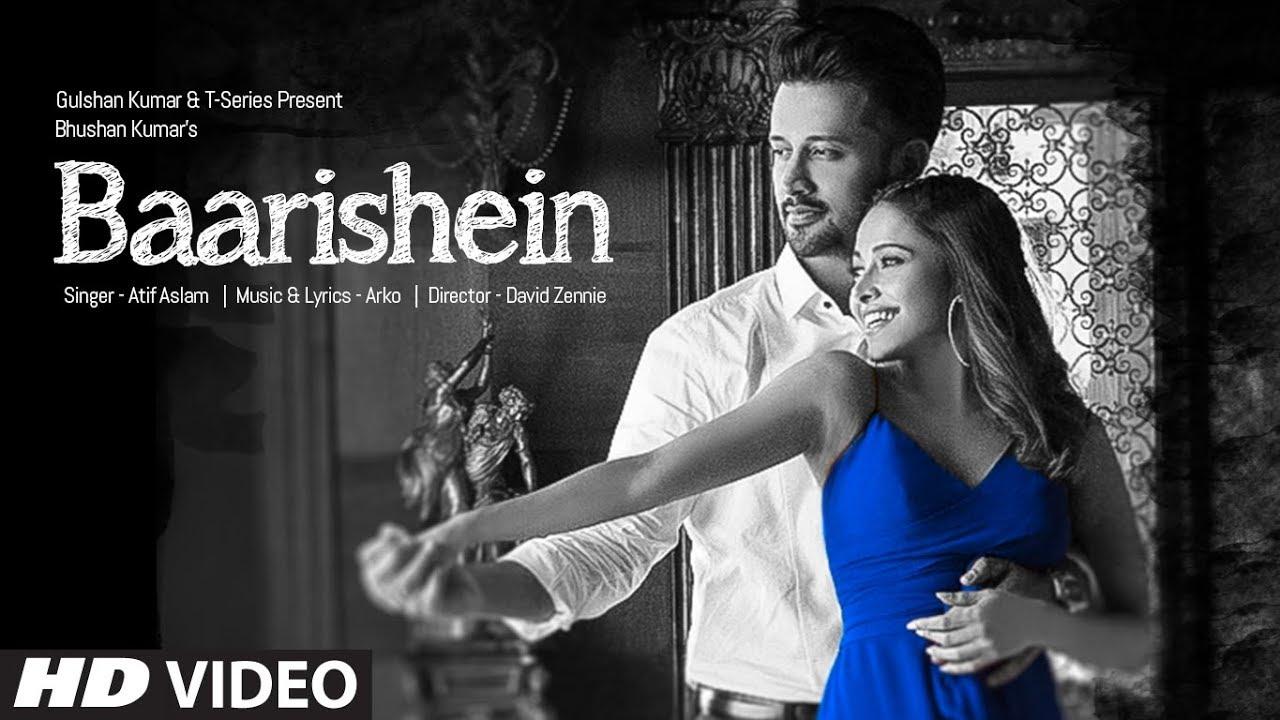 BAARISHEIN Song | Arko Feat  Atif Aslam & Nushrat Bharucha | New Romantic  Song 2019 | T-Series