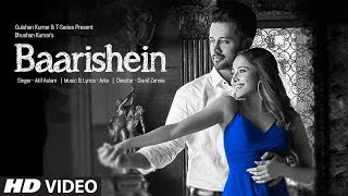 BAARISHEIN Song | Arko Feat. Atif Aslam & Nushrat Bharucha | New Romantic Song 2019 | T Series