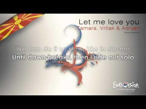 "Tamara, Vrcak & Adrijan - ""Let Me Love You"" (F.Y.R. Macedonia) - [Karaoke version]"
