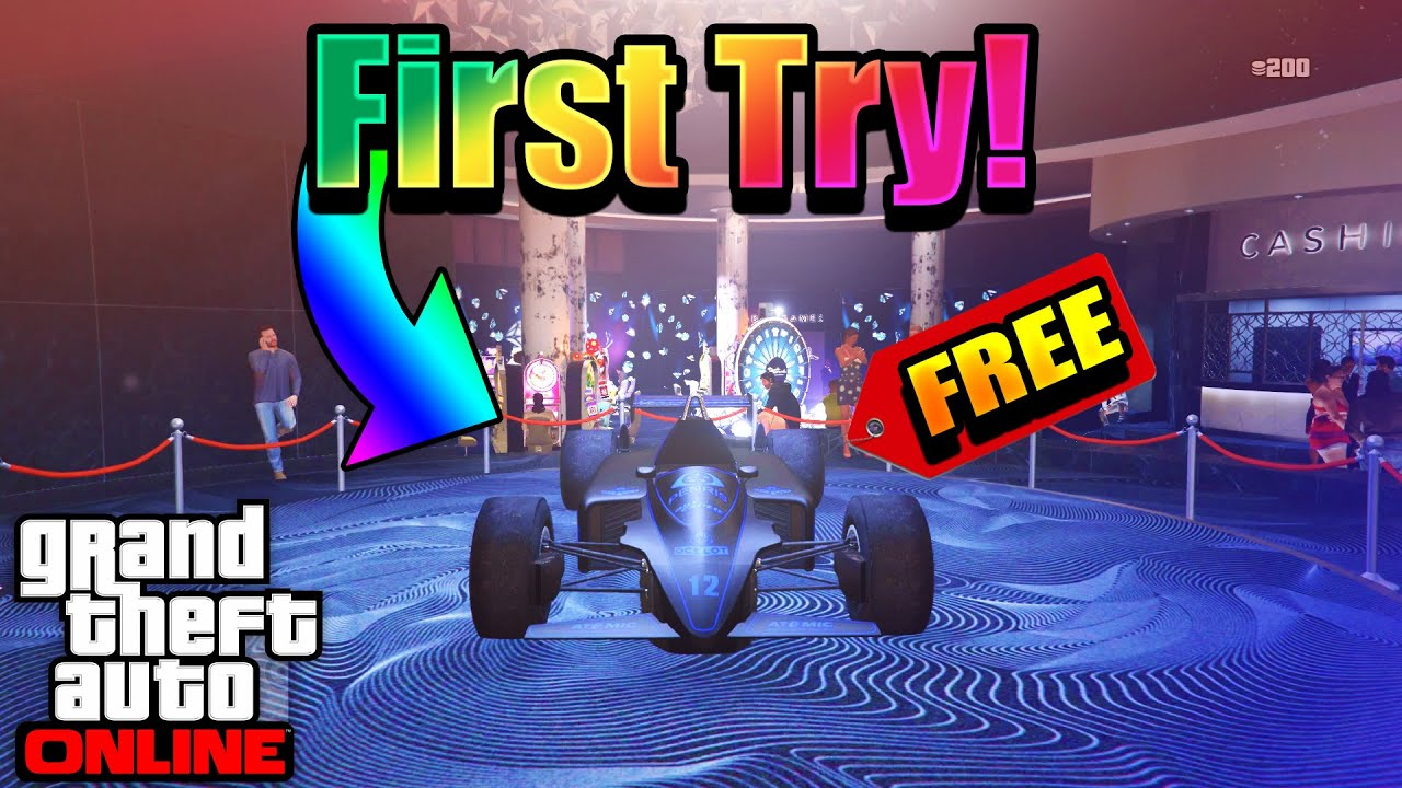 **WORKING** HOW TO WIN THE LUCKY WHEEL PODIUM CAR EVERY TIME IN GTA 5 ONLINE! (LUCKY WHEEL GLITCH!)