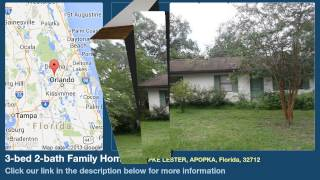 3-bed 2-bath Family Home for Sale in Apopka, Florida on florida-magic.com