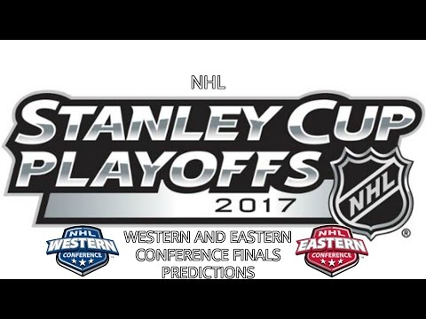 NHL STANLEY CUP PLAYOFFS 2017 WESTERN AND EASTERN CONFERENCE FINALS PREDICTIONS