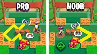 NOOB vs PRO Gadgets Brawl Stars Funny Moments Fails & Glitches