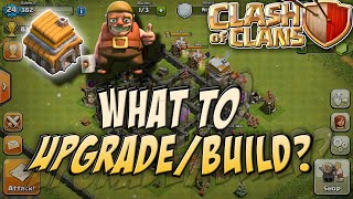 Clash of Clans: What to upgrade first! - Townhall 5