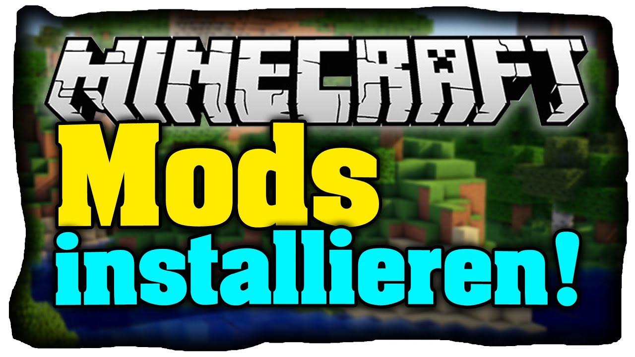 Minecraft Mods installieren (Tutorial) Wie installiere