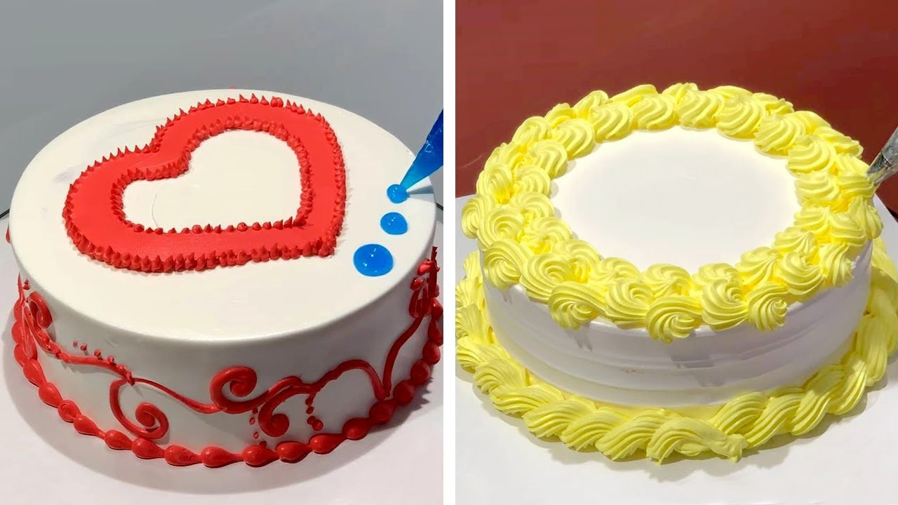 Quick Cake Decorating Ideas for Birthday Lover | Amazing Cake Decorating Tutorials For Topping
