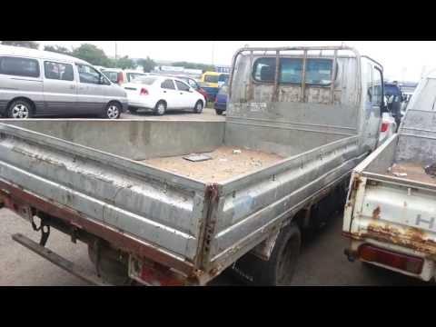 sv110 korean used trucks in Ghana japanese style