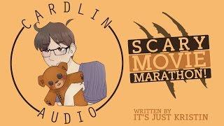 ASMR Roleplay: Scary movie marathon! [Cuddled up] [Rain] [Trigger warning: Thunder] thumbnail