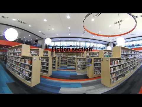 360 tour of Boston Public Library