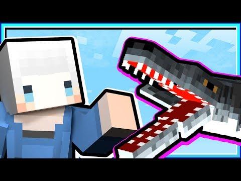 【Minecraft | 末世時代】#21 可愛的滑齒龍👈可怕的巨翅鱟😱