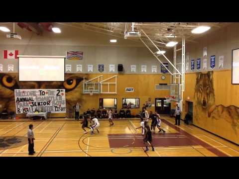 McNair Marlins vs. Kwantlen Park - Game 4 of Kwantlen Park Tip-Off Tournament