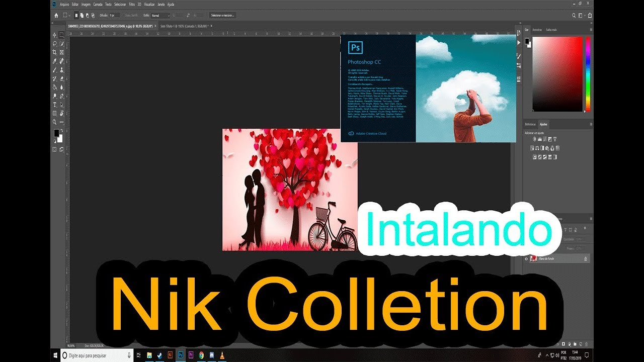precoz Secretario continuar  Nik Collection Como Instalar Português BR (Plugin Photoshop cc 2019) -  YouTube