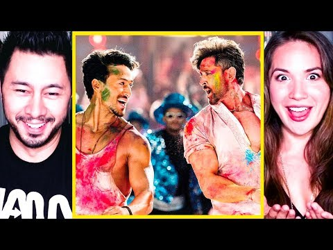 Jai Jai Shivshankar Music Video Reaction  War  Hrithik Roshan  Tiger Shroff  Jaby & Miriam Macip