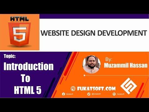 Introduction To HTML5 (01) || Website Design And Development || Urdu || Hindi
