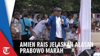 Kampanye di Solo, Amien Rais Beberkan Alasan Prabowo Sering Marah dan Gebrak Meja dalam Orasinya
