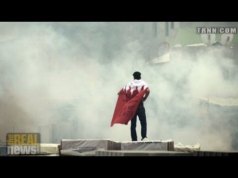 Bahrain Protestors Clash with Police at Citizen Journalist's Funeral