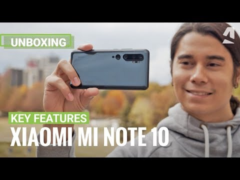 Xiaomi Mi Note 10 unboxing and key features