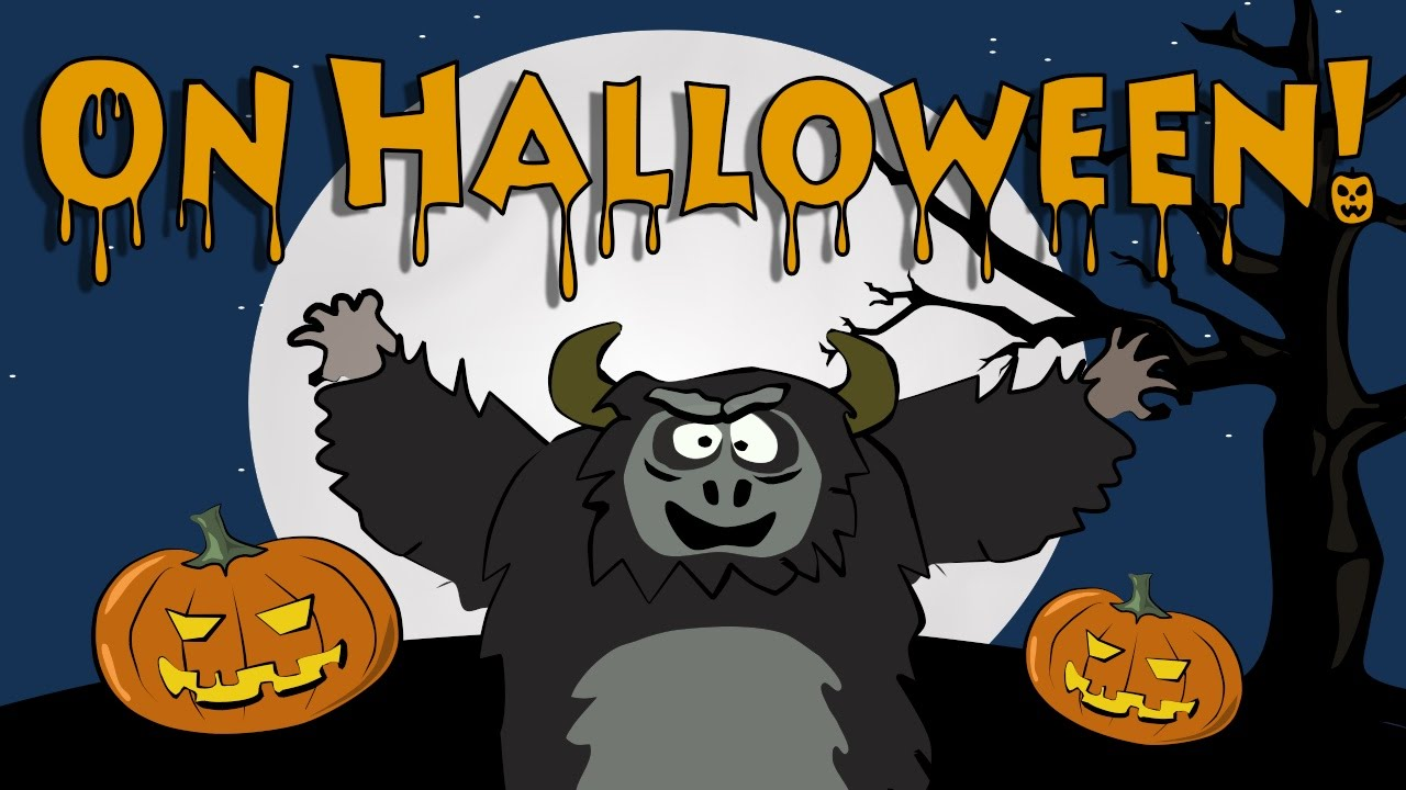 Children S Halloween Songs On Halloween The Singing Walrus Youtube